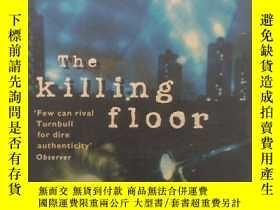 二手書博民逛書店屠宰間罕見the killing floor(英文原版恐怖小說)