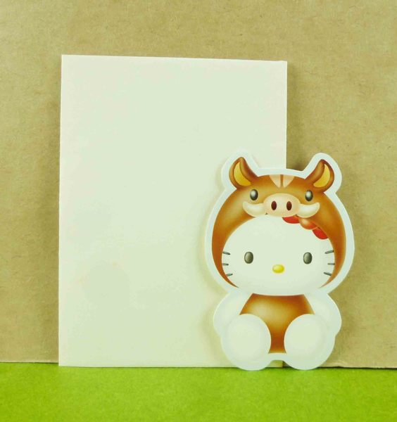 【震撼精品百貨】Hello Kitty 凱蒂貓~生肖卡片-豬