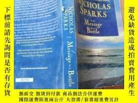 二手書博民逛書店Nicholas罕見sparks message in a bo