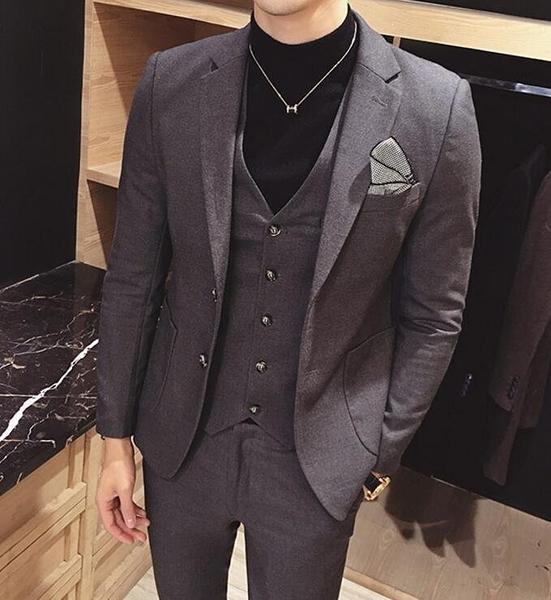 FINDSENSE品牌 英倫 男 舒適修身 小西裝  西裝外套 單件外套