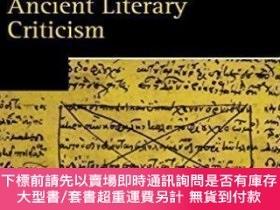 二手書博民逛書店Ancient罕見Literary Criticism (oxford Readings In Classical