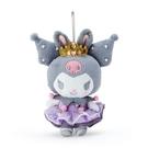 小禮堂 酷洛米 絨毛吊飾 玩偶吊飾 玩偶鑰匙圈 包包吊飾 (紫 芭蕾劇場) 4550337-33602
