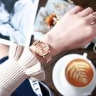韓版時尚網紅全自動非機械錶女士手錶夜光防水雙日歷學生鋼帶腕錶