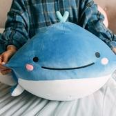 公仔 鯨魚萌海豚海洋館毛絨玩具可愛超軟呆萌女孩布娃娃少女心抱枕 - 雙十二交換禮物