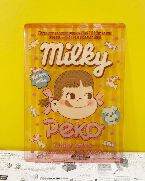 【震撼精品百貨】Peko 不二家牛奶妹~墊板-粉#07948