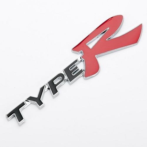 TYPE R 金屬車標 後車貼 HONDA CIVIC CITY CR-V H-RV ACCORD 沂軒精品 A0346