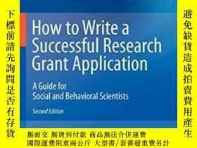 二手書博民逛書店How罕見To Write A Successful Research Grant Application-如何撰