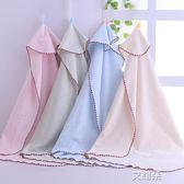 包被夏春款新生兒薄款抱毯被子裹布寶寶抱被襁褓包巾單被     艾維朵