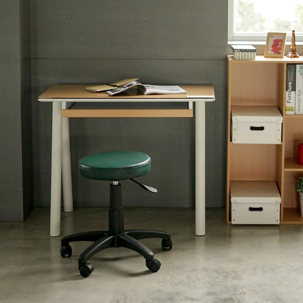 電腦椅 辦公椅 書桌椅 椅子【I0183】皮革升降旋轉圓椅 MIT台灣製ac 收納專科