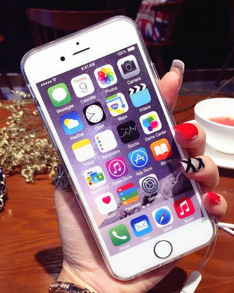 【SZ15】 iPhone 7/8 保護殼 鐳射藍光鑽石紋電鍍軟殼  iphone 6 plus iPhone 7/8 plus 保護殼 iphone 6s 手機殼