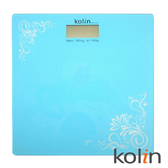 Kolin歌林 時尚玻璃電子秤 KWN-SH01-藍色【屈臣氏】