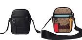 ~雪黛屋~COACH 斜背包超小容量肩背情侶包國際正版保證進口防水防防刮皮革品證購證塵套提袋