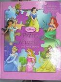 【書寶二手書T7/少年童書_QOK】Disney Princess Pretty Puzzles and Sweet Stories_Bergen, Lara