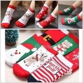 現貨 聖誕節厚款寶寶襪子 兒童襪 嬰兒襪 保暖襪 外出襪 睡眠襪 果漾妮妮【SD180】