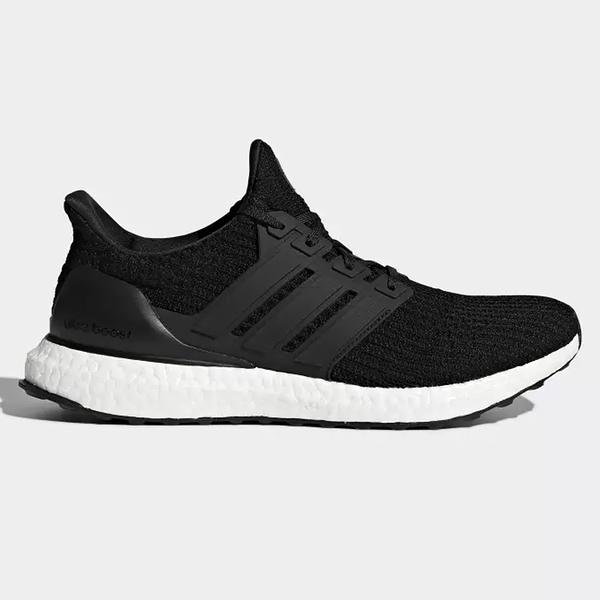 Adidas Ultra Boost 4.0 男鞋 慢跑 馬牌大底 編織 襪套 柔軟 緩震 黑【運動世界】 BB6166