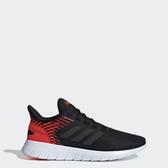Adidas Asweerun [F36997] 男鞋 運動 休閒 慢跑 緩震 舒適 透氣 愛迪達 黑紅