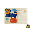 【收藏天地】印章明信片*平安天燈 ∕  印章 擺飾 送禮 趣味 文具 創意 觀光 記念品
