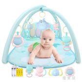 嬰兒玩具腳踏鋼琴健身架器寶寶0-1歲6-12個月音樂益智琴女孩男孩 QG6025『優童屋』