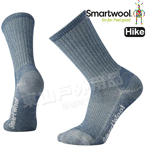 Smartwool Hike LT SW129-420藍 男超輕型徒步中長襪 美麗諾羊毛襪/戶外運動登山襪/健行排汗襪