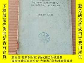 二手書博民逛書店American罕見mathematical society colloquium publications(P5