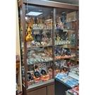 5呎展示玻璃櫃{二手品}須自取不提供配送(物品在台北市)