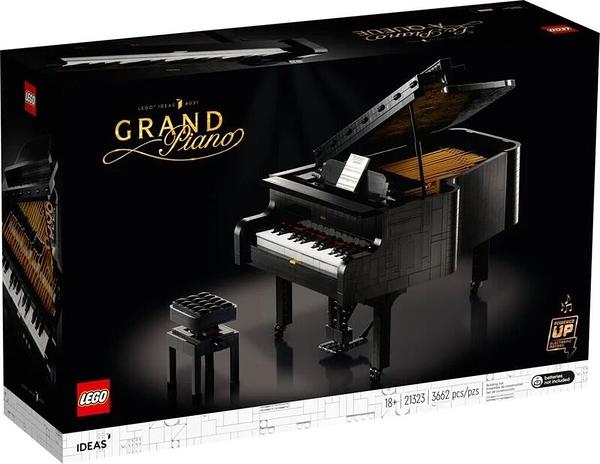 21323【LEGO 樂高積木】IDEAS系列-樂高鋼琴