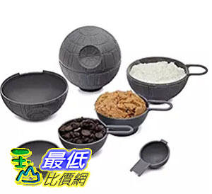 [美國直購] ThinkGeek 星際大戰 Star Wars 死星 量杯組 Death Star Measuring Cups 週邊商品