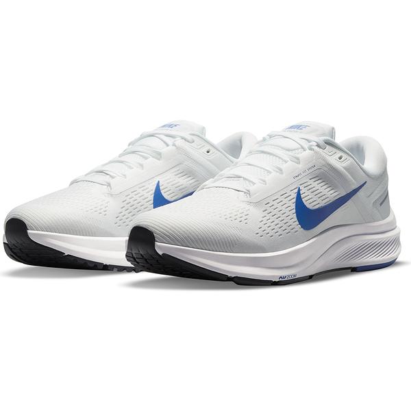 NIKE AIR ZOOM STRUCTURE 24 男款 慢跑鞋 運動鞋 訓練 白色 DA8535100 【KAORACER】
