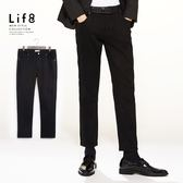 Life8-Formal 磨毛厚感 舒彈修身牛仔長褲【12030】