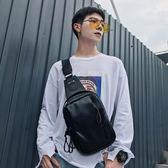 新款街頭韓版胸包休閒腰包潮包 運動單肩背包新款斜跨包