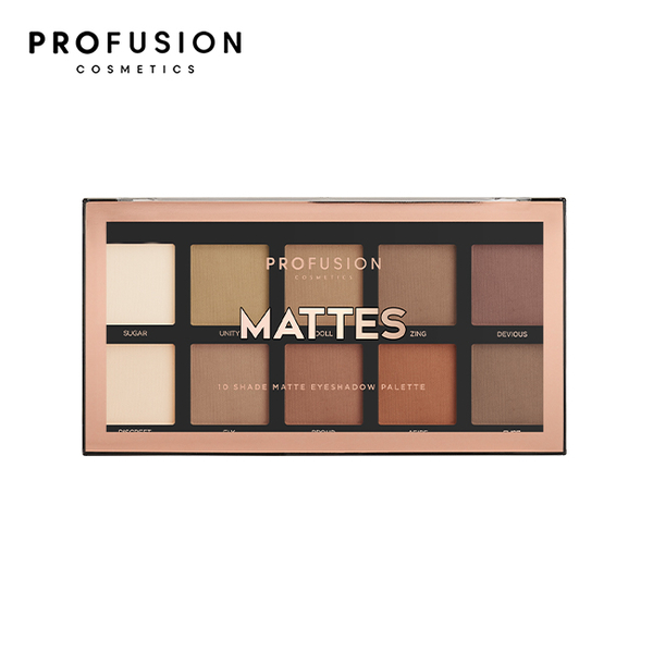 PROFUSION 10色眼影盤 - 霧面風情 16g