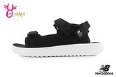 New Balance 750 中大童涼鞋 成人女款 椰樹花紋 透氣清涼 運動涼鞋 O8532#黑色◆OSOME奧森鞋業