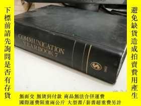 二手書博民逛書店Communication罕見Yearbook 7(16開)Y1