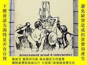 二手書博民逛書店Life罕見of TOM HORN:government sco