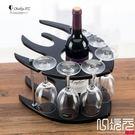 木質酒架實木酒架紅酒架酒杯架葡萄酒瓶架歐式家用擺件工藝品一次元