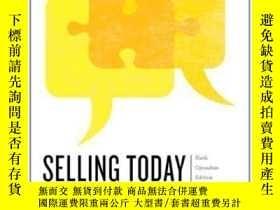二手書博民逛書店Selling罕見Today: Creating Customer Value Sixth Canadian Ed