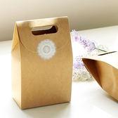 【BlueCat】立體牛皮紙手提禮物包裝袋