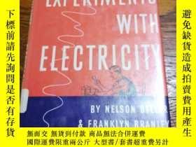 二手書博民逛書店EXPERIMENTS罕見WlTH ELECTRIClTYY81
