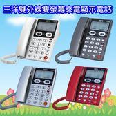 ^聖家^(送6顆電池)三洋雙外線雙螢幕來電顯示電話機  TEL-868【全館刷卡分期+免運費】