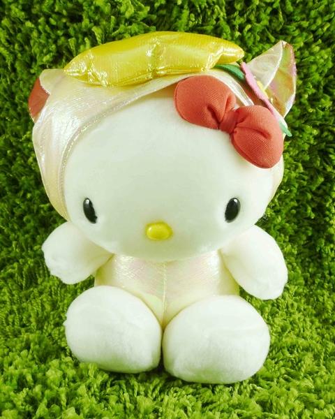 【震撼精品百貨】Hello Kitty 凱蒂貓~KITTY生肖絨毛娃娃-亮面羊