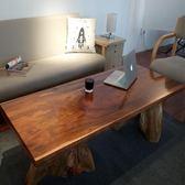 茶几 全實木茶几家用原木簡易約客廳小戶型茶桌茶台整裝陽台創意家具