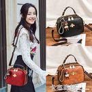 包包女新款潮春夏款韓版時尚女士百搭斜背包單肩包小包手提包 卡布奇諾