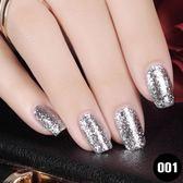 美甲鐳射鉑金膠指甲油膠光療鑽石亮片閃膠套裝美甲店專用