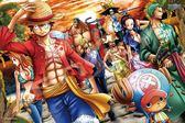 【拼圖總動員 PUZZLE STORY】上陸(彩色) 日本進口拼圖/Ensky/海賊王 One Piece/1000P/環保塑膠