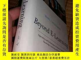 二手書博民逛書店Beyond罕見E-Learning 英文書 原版Y182979