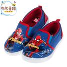 《布布童鞋》Marvel英雄系列蜘蛛人新宇宙藍紅色兒童休閒鞋室內鞋(16~21公分) [ B0G406B ]