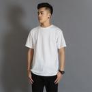 厚實純棉純色短袖打底衫T恤白色男女T恤圓領潮