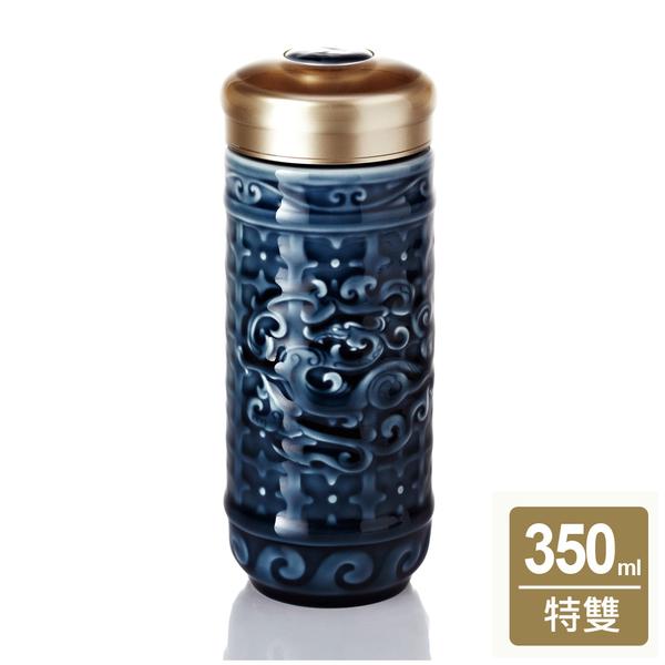 《乾唐軒活瓷I》勢在必得隨身杯 / 大 / 特雙 / 礦藍
