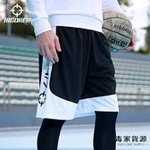 籃球褲運動褲寬松透氣褲子訓練服五分褲男中褲跑步速干短褲【毒家貨源】