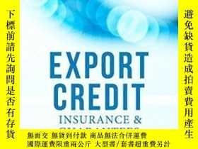 二手書博民逛書店Export罕見Credit Insurance And Guarantees: A Practitioner s